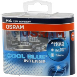 OSRAM H4 COOL BLUE INTENSE Duo-Box